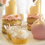 Fit for a Princess 1st Birthday Party via Kara's Party Ideas KarasPartyIdeas.com | Cake, decor, printables, banners, favors, food and more! #fitforaprincess (2)