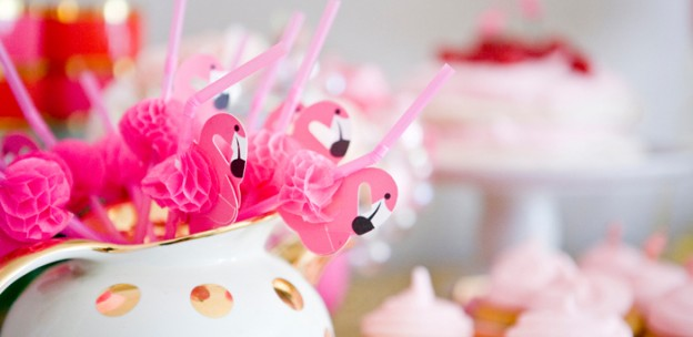 Flamingo themed birthday party via Kara's Party Ideas KarasPartyIdeas.com #flamingoparty (1)