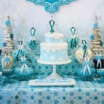 Frozen Themed 5th Birthday Party via Kara's Party Ideas KarasPartyIdeas.com | Cake, decor, favors, supplies, printables, and more! #frozenbirthdayparty (1)