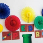 Mario Bros themed birthday party via Kara's Party Ideas KarasPartyIdeas.com #marioparty (1)