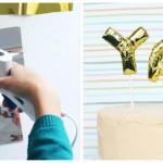 Mini Foil Balloon Cake Toppers via Kara's Party Ideas KarasPartyIdeas.com #minifoilballooncaketoppers (1)