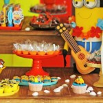 Minions in Hawaii themed birthday party via Kara's Party Ideas KarasPartyIdeas.com | Party supplies, cake, favors, desserts, printables and more! #minionparty (1)