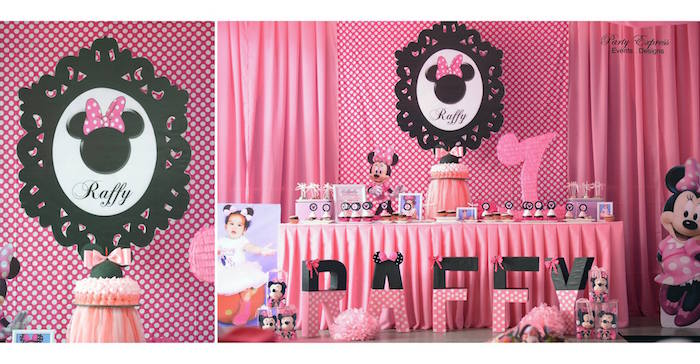 Kara S Party Ideas Minnie Mouse Birthday Party Kara S
