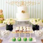Mint Green + Gold Baby Shower via Kara's Party Ideas KarasPartyIdeas.com #mintandgoldbabyshower (2)