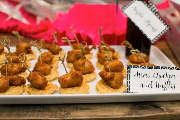Modern Breakfast At Tiffanys Birthday Party Via Karas Ideas KarasPartyIdeas