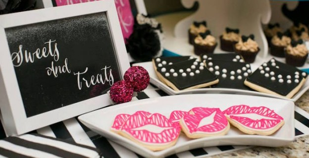 Modern Breakfast At Tiffany's Birthday Party via Kara's Party Ideas KarasPartyIdeas.com | The Place for All Things Party! #breakfastattiffanysparty (2)