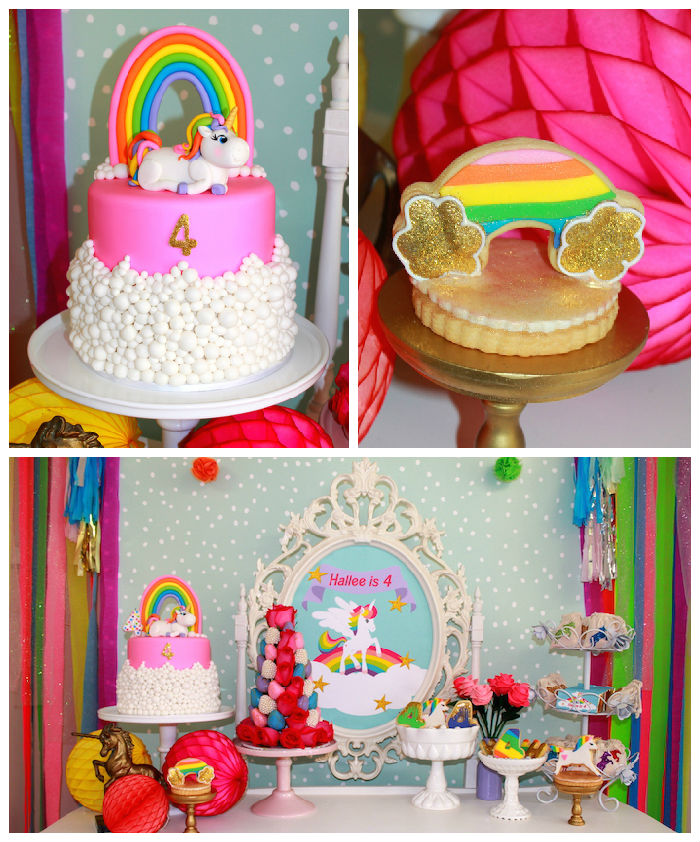 kara 39 s party ideas rainbow unicorn themed birthday party. Black Bedroom Furniture Sets. Home Design Ideas