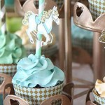 Royal Carousel themed 1st Birthday Party via Kara's Party Ideas | KarasPartyIdeas.com Printables, tutorials, desserts, cake, banners, food and more! #royalcarouselparty (1)