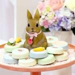 Shabby Chic Bunny Birthday Party via Kara's Party Ideas KarasPartyIdeas.com #bunnyparty (2)