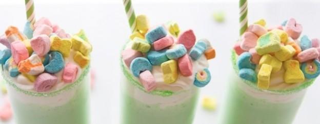 Shamrock Lucky Shake Recipe on Kara's Party Ideas by Coupons.com! KarasPartyIdeas.com | St Patrick's Day Party Ideas 2