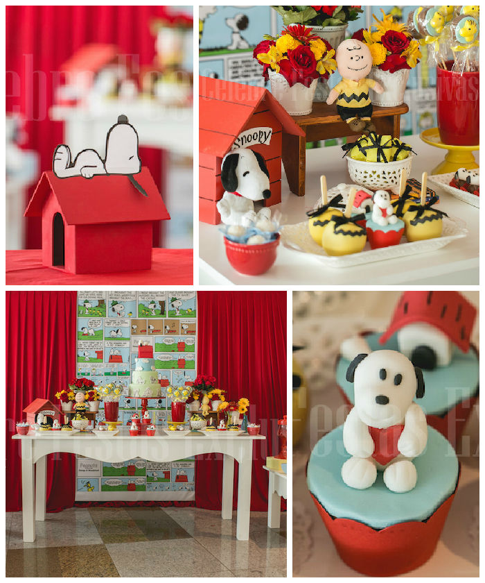 Kara S Party Ideas Car Themed 1st Birthday Party Via Kara: Kara's Party Ideas » Snoopy Themed Birthday Party Via Kara