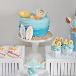 Surf | Surfing themed 40th birthday party via Kara's Party Ideas KarasPartyIdeas.com #surfingparty (1)