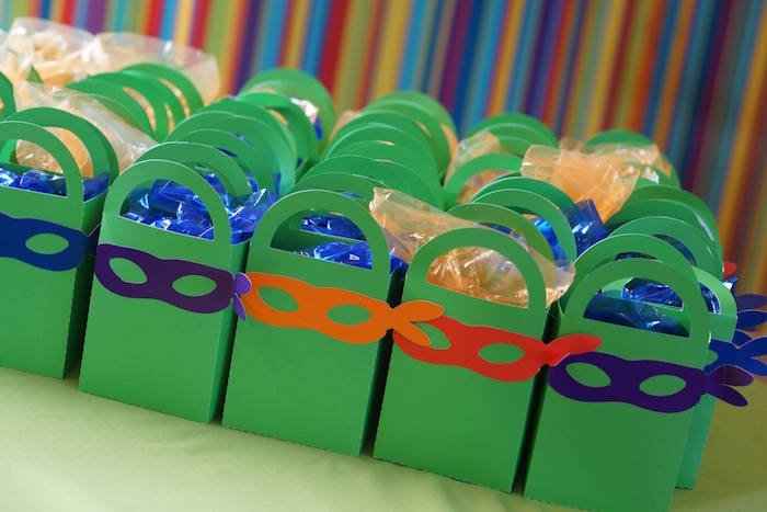 Kara's Party Ideas TMNT Ninja Turtles themed birthday ... - photo#33
