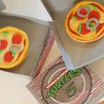TMNT Ninja Turtles themed birthday party via Kara's Party Ideas KarasPartyIdeas.com #ninjaturtlesparty (2)