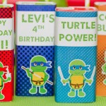 Teenage Mutant Ninja Turtles Birthday Party via Kara's Party Ideas KarasPartyIdeas.com #teenagemutantninjaturtlesparty (1)