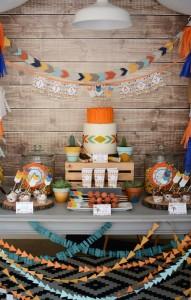 Tribal Little Brave Man themed baby shower via Kara's Party Ideas KarasPartyIdeas.com #tribalbabyshower (21)
