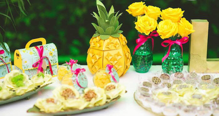 Tropical Themed Party Ideas Free Printables: Kara's Party Ideas Tropical 1st Birthday Party