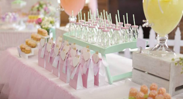Tutus & Sparkly Shoes themed birthday party via Kara's Party Ideas KarasPartyIdeas.com #tutusandsparklyshoes #balletparty #danceparty #girlparty #partyideas (4)