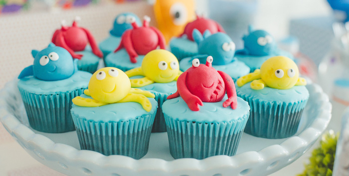Karas Party Ideas Under The Sea Themed Birthday Party via Karas