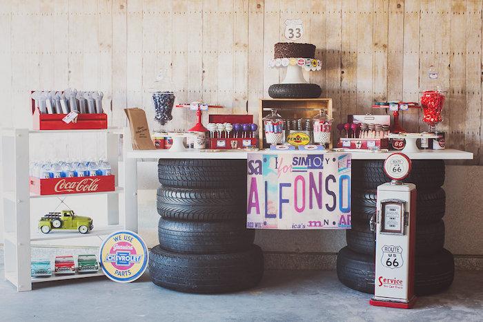 Vintage Car Decorating Ideas Getaway Wedding Car