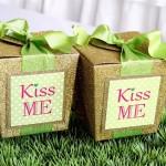 """Kiss Me"" St. Patrick's Day Party on KarasPartyIdeas.com #StPatricksDay #KissMe #PartyIdeas #Irish #PinkAndGreen #PartyDecor (10)"