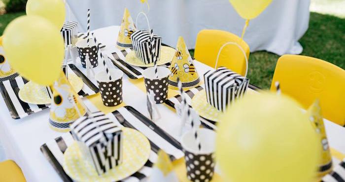 Karas party ideas bumble bee themed birthday party karas party ideas filmwisefo
