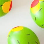 Cactus Easter Eggs tutorial via Kara Allen | KarasPartyIdeas.com | Kara's Party Ideas! Cute painted eggs!_-31