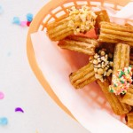 churro bar for cinco de mayo fiesta via kara's party ideas by balloon time and studio diy