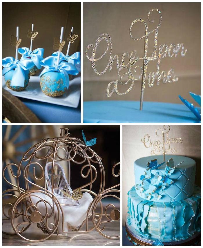 Kara S Party Ideas Cinderella Inspired Birthday Party Via