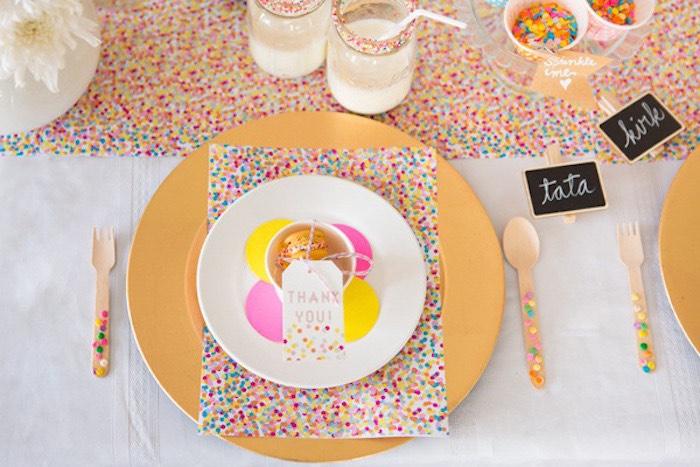 Lovely Confetti U0026 Sprinkles Baby Shower Via Karau0027s Party Ideas KarasPartyIdeas.com  | Cakes, Decor