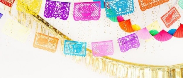 DIY fiesta cinco de mayo party ideas from balloon time on kara's party ideas