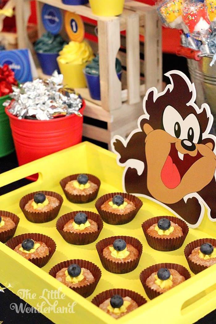 Kara S Party Ideas Looney Tunes Tazmanian Devil Themed