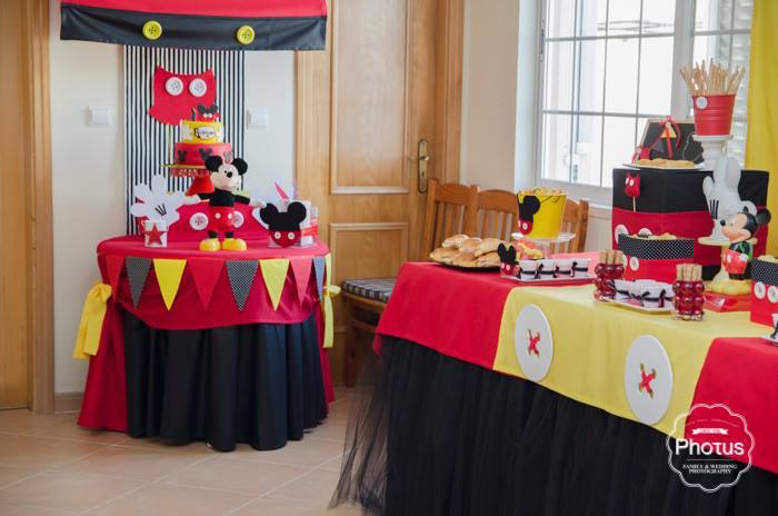 Mickey Mouse Birthday Party Decoration Ideas Affordable Mickey