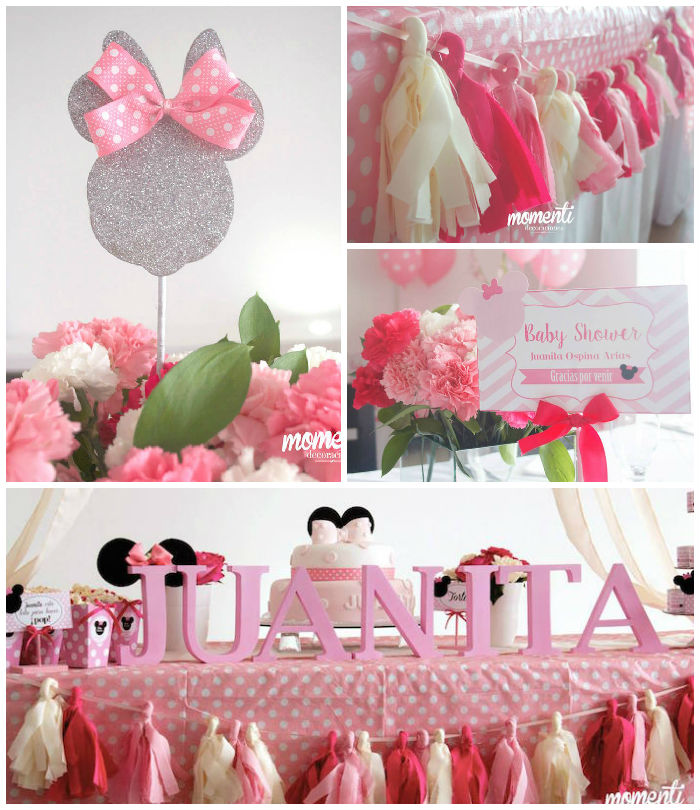 Karas Party Ideas Minnie Mouse Baby Shower Karas Party Ideas