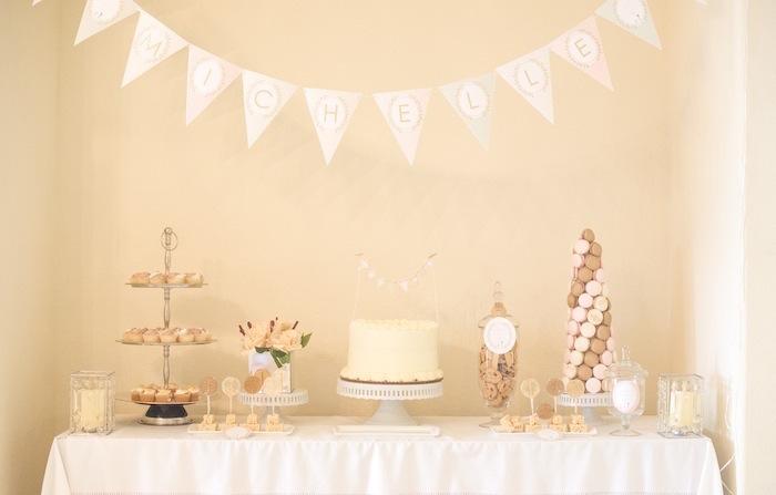 Kara S Party Ideas Pastel Paris Themed Birthday Party Via