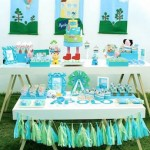 Peppa Pig Birthday Party via Kara's Party Ideas | KarasPartyIdeas.com #peppapigparty (2)
