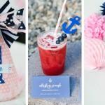 Peppy 1st Birthday Bash via Kara's Party Ideas   KarasPartyIdeas.com #preppybirthdayparty (2)