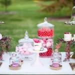 Romantic Floral Dessert Table via Kara's Party Ideas | KarasPartyIdeas.com #floraldesserttable (1)