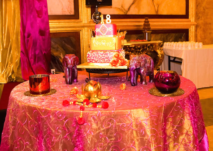 Kara 39 s party ideas royal bollywood themed 18th birthday - Th birthday themes ideas ...
