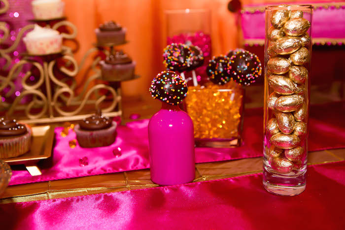 Kara 39 s party ideas royal bollywood themed 18th birthday for 18th birthday party decoration ideas