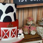 Rustic Barnyard 1st Birthday Party via Kara's Party Ideas! The Place for All Things Party! KarasPartyIdeas.com #barnyardparty (2)