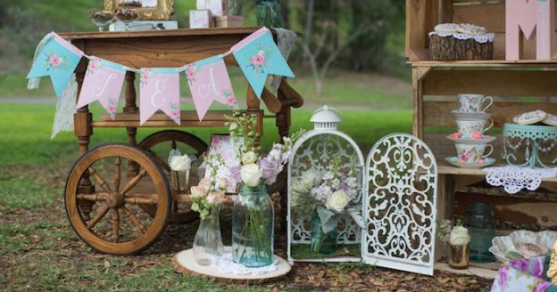 Rustic Chic Floral Mother's Day Party via Kara's Party Ideas | KarasPartyIdeas.com #rusticchicmothersdayparty (1)