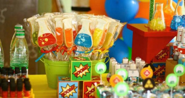 Scientist themed birthday party via Kara's Party Ideas | The Place for All Things Party! KarasPartyIdeas.com #scientistparty (2)