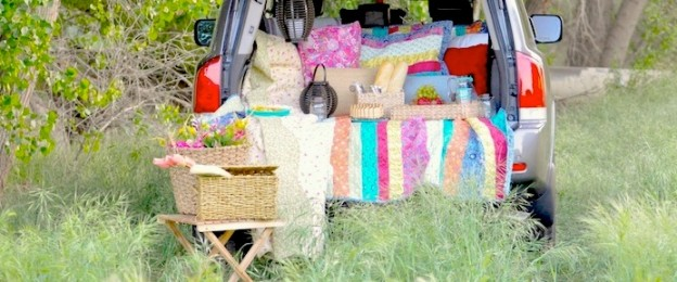 Summer Tailgate Family Picnic by Kara Allen | Kara's Party Ideas | KarasPartyIdeas.com for Kohls_-5