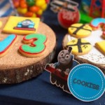 Thomas the Train themed birthday party via Kara's Party Ideas KarasPartyIdeas.com #thomastrainparty (2)