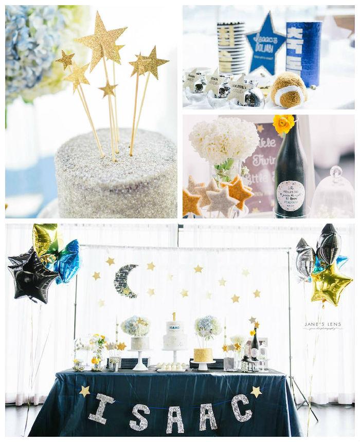 Kara S Party Ideas Car Themed 1st Birthday Party Via Kara: Kara's Party Ideas Twinkle Twinkle Little Star Themed