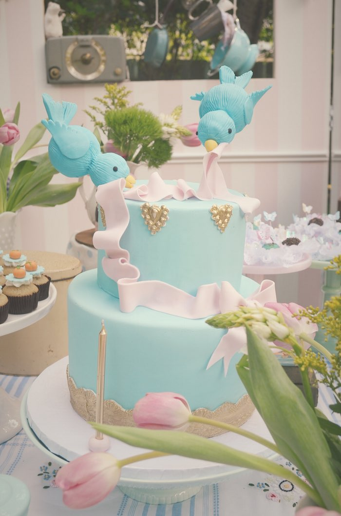 Kara's Party Ideas Vintage Cinderella themed birthday ...