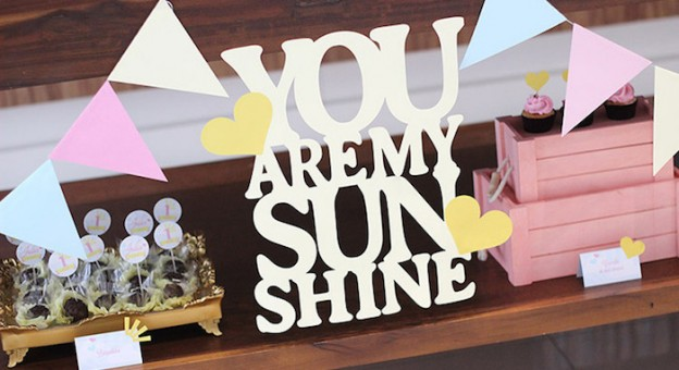 You Are My Sunshine themed birthday party via Kara's Party Ideas KarasPartyIdeas.com #youaremysunshineparty (1)