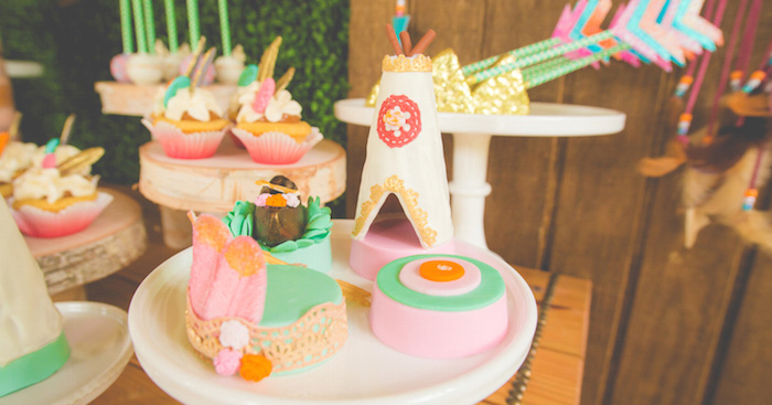 Kara S Party Ideas American Girl Doll Pow Wow Party