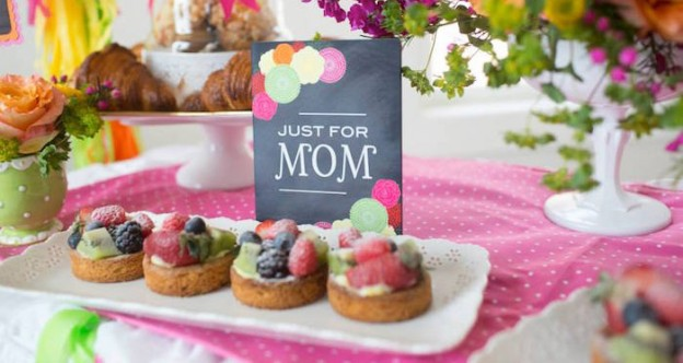 Coffee with Mom Mother's Day Party via Kara's Party Ideas | KarasPartyIdeas.com (1)